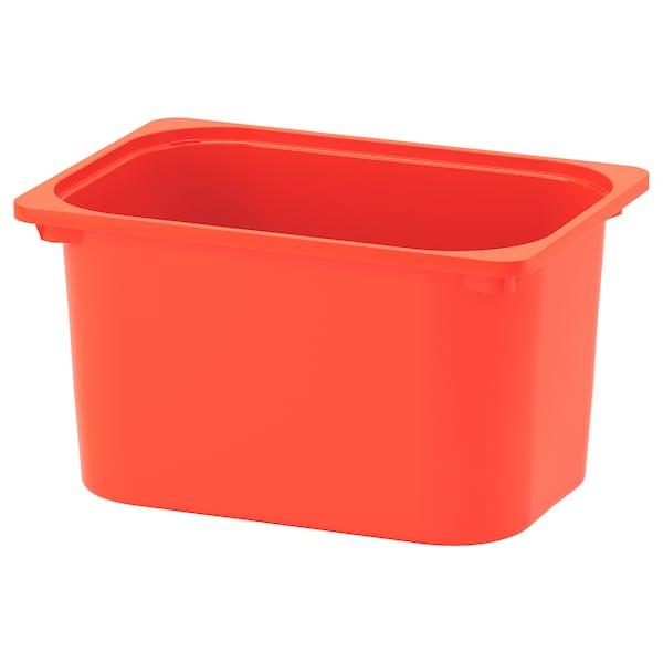 TROFAST storage box orange 42 cm 30 cm 23 cm