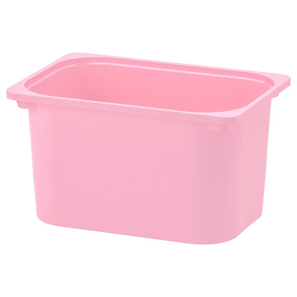 TROFAST storage box pink 42 cm 30 cm 23 cm