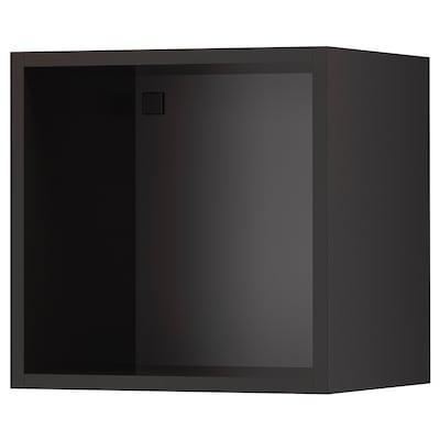 TUTEMO Open cabinet, anthracite, 40x37x40 cm