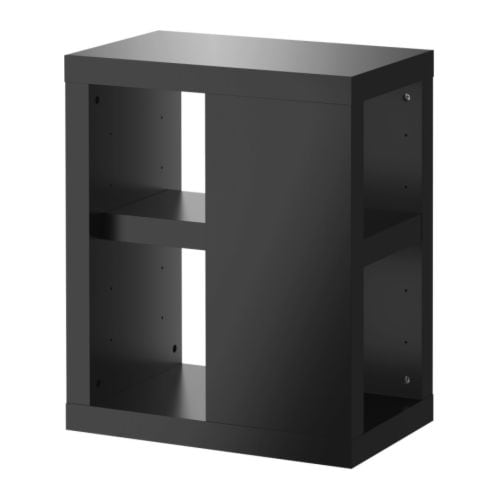 ullrik table leg with storage black ikea. Black Bedroom Furniture Sets. Home Design Ideas