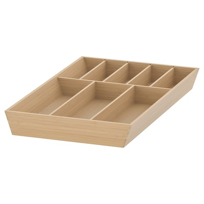 UPPDATERA صينية أدوات طعام, بامبو فاتح, 32x50 سم