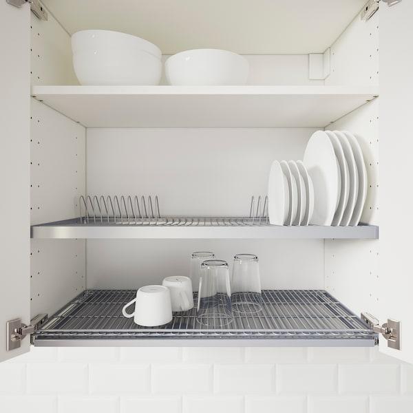 UTRUSTA Dish drainer for wall cabinet, 80x35 cm