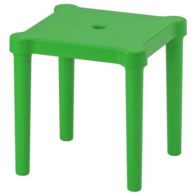 UTTER Children's stool, in/outdoor/green