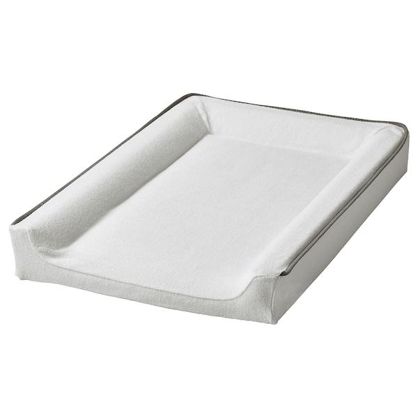 VÄDRA Cover for babycare mat, white, 48x74 cm
