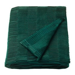 VÄGMÅLLA throw, green