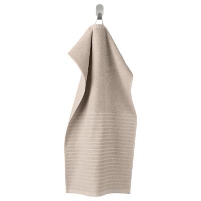 VÅGSJÖN Hand towel, beige, 40x70 cm