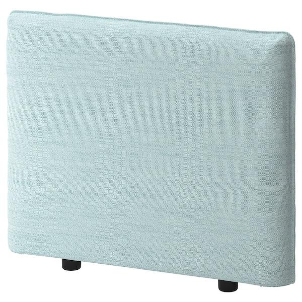 VALLENTUNA Cover for armrest, Hillared light blue