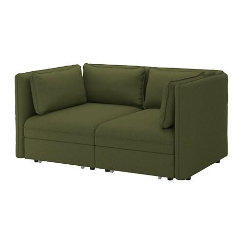 Vallentuna 2 Seat Modular Sofa W Beds