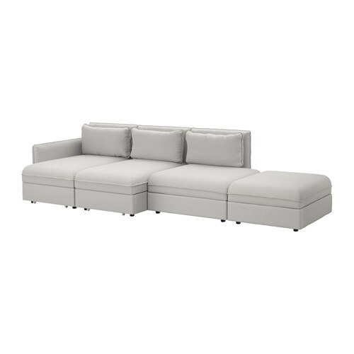 Vallentuna 4 Seat Sofa With Bed Ikea