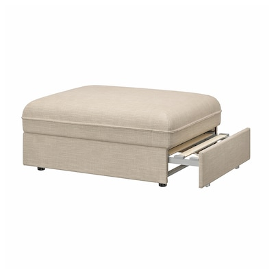 VALLENTUNA Sofa-bed module, Hillared beige