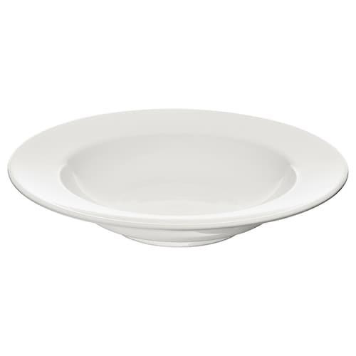 VARDAGEN deep plate off-white 23 cm