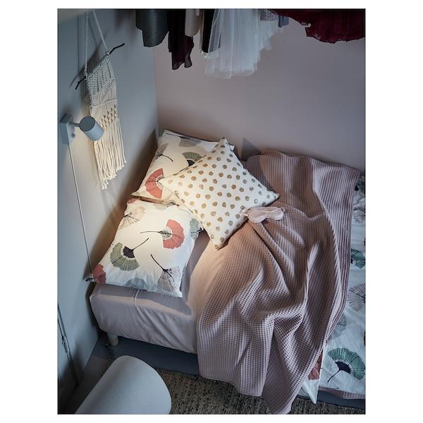 VÅRELD Bedspread, light pink, 150x250 cm