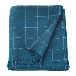 VÅRKRAGE throw, blue