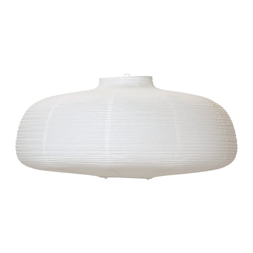 VÄTE Pendant lamp shade IKEA Diffused light that provides good general light in the room.
