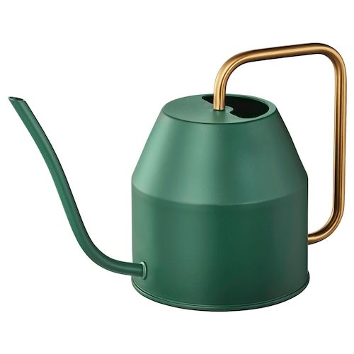VATTENKRASSE watering can dark green 16 cm 0.9 l