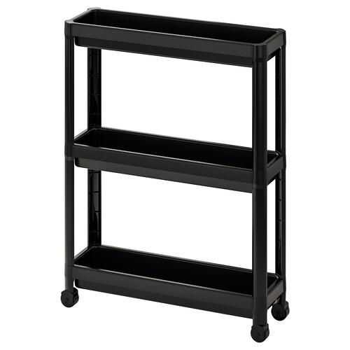VESKEN trolley black 54 cm 18 cm 71 cm
