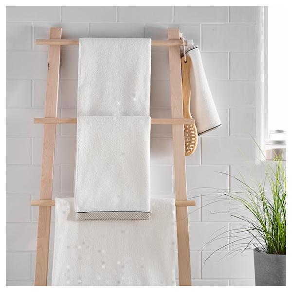 VIKFJÄRD Bath sheet, white, 100x150 cm