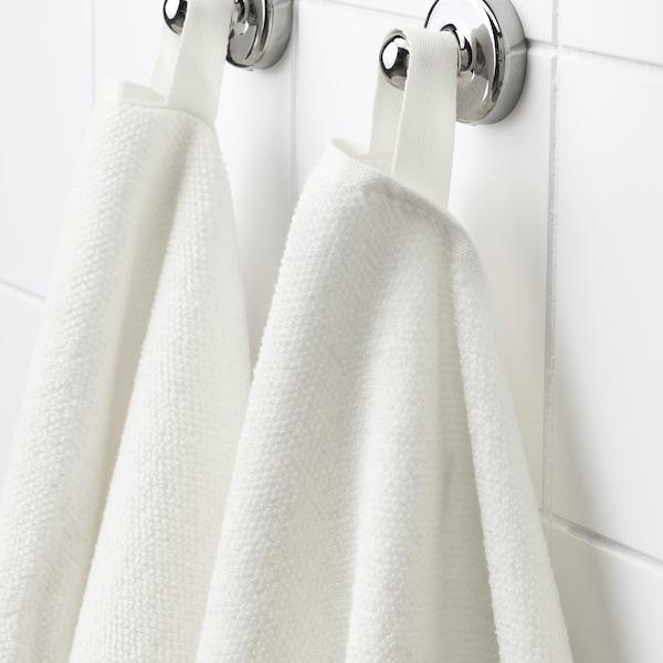 VIKFJÄRD Washcloth, white, 30x30 cm