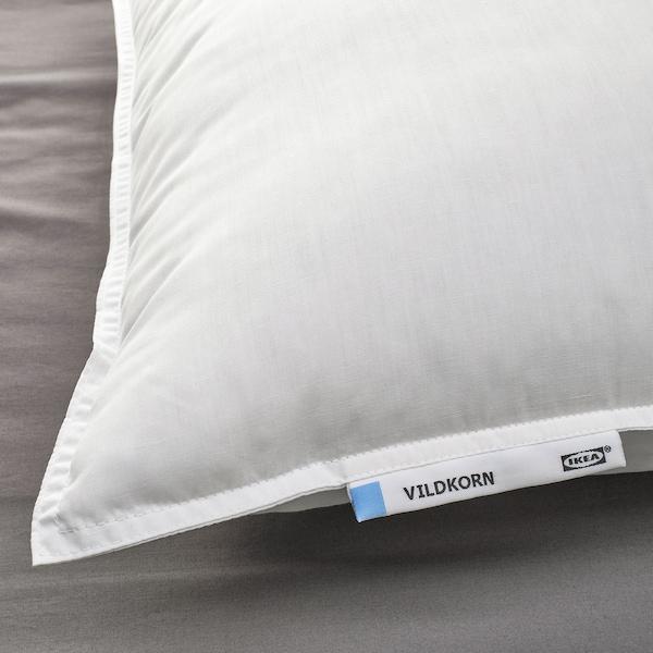 VILDKORN Pillow, low, 50x80 cm