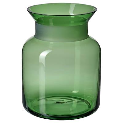 VINTER 2021 Vase, green, 20 cm