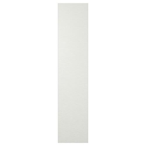 VINTERBRO door with hinges white 50.0 cm 229.0 cm 1.7 cm 236.4 cm