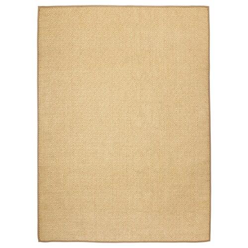VISTOFT rug, flatwoven natural 350 cm 250 cm 8 mm 8.75 m² 2840 g/m²