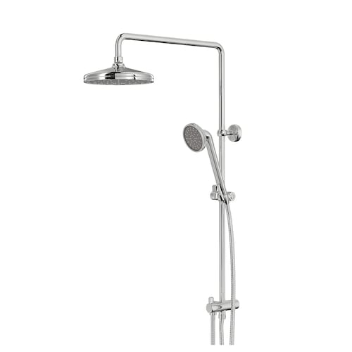 VOXNAN head/handshower kit with diverter chrome-plated 90 mm 200 mm 1500 mm 200 mm 560 mm 850 mm