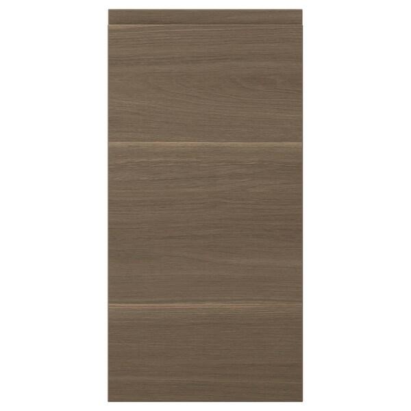 VOXTORP Door, walnut effect, 30x60 cm