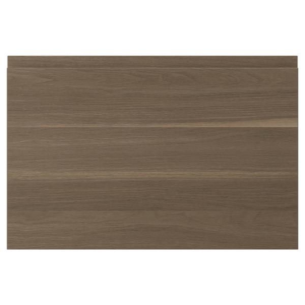 VOXTORP Door, walnut effect, 60x40 cm