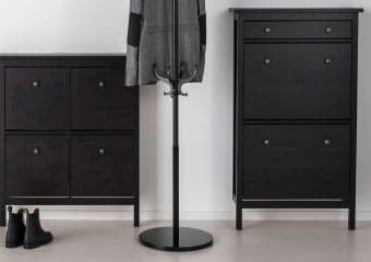 HEMNES hallway series black-brown