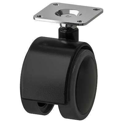 ALEX Rotilă, negru, 50 mm