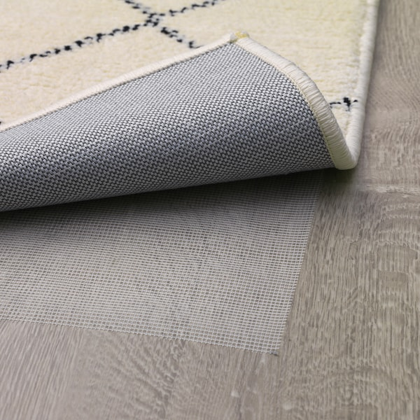 ARNAGER Covor, alb/bej, 140x200 cm