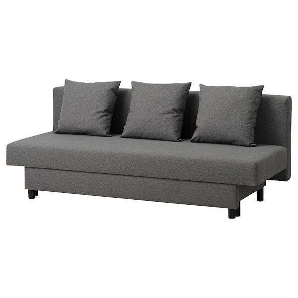 ASARUM Canapea extensibilă 3locuri, gri