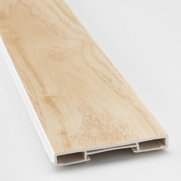 ASKERSUND Plintă, aspect frasin, 220x8 cm
