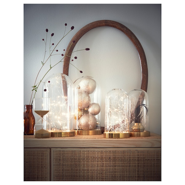 BEGÅVNING clopot sticlă cu bază 26 cm