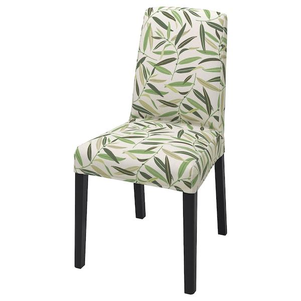 BERGMUND Husă scaun, Fågelfors multicolor