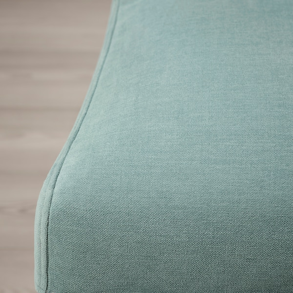BERGMUND Husă scaun, Ljungen verde deschis