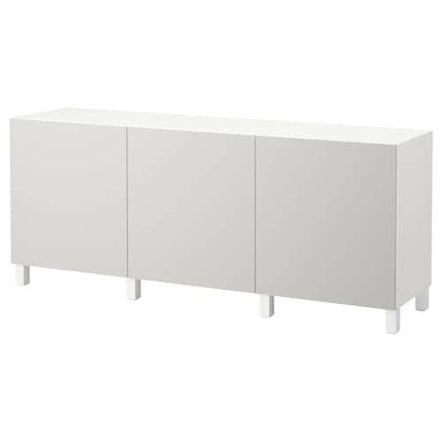 IKEA BESTÅ Ansamblu depozitare cu uşi