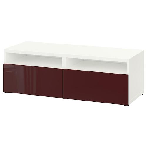 IKEA BESTÅ Comodă tv cu sertare