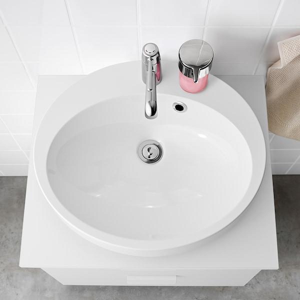 BETINGEN Lavoar/blat, alb, 55 cm
