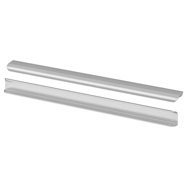 BILLSBRO Mâner, aspect inox, 520 mm