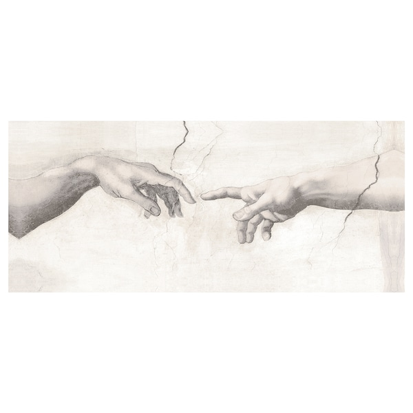 BJÖRKSTA Tablou, Atingere, 140x56 cm