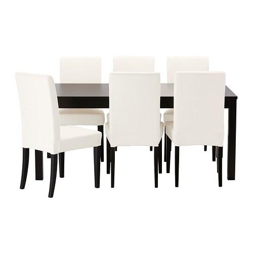 bjursta henriksdal mas 6scaune ikea. Black Bedroom Furniture Sets. Home Design Ideas