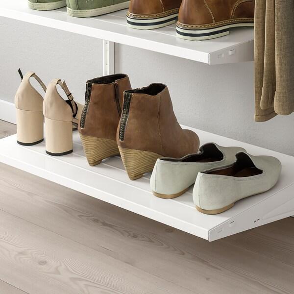 BOAXEL Poliţă pantofi, alb, 80x40 cm