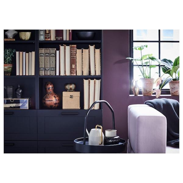 BRIMNES Bibliotecă, negru, 60x190 cm