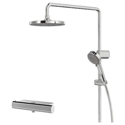 BROGRUND Set duş/termostat, cromat