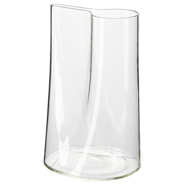 CHILIFRUKT Vază/stropitoare, sticlă transparentă, 21 cm
