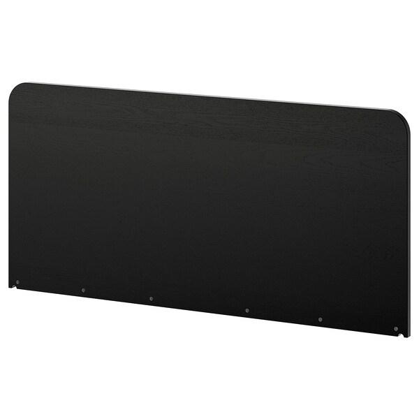 DELAKTIG Tăblie, negru, 160 cm