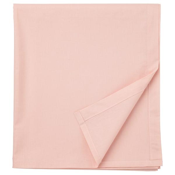 DVALA Cearşaf, roz deschis, 150x260 cm