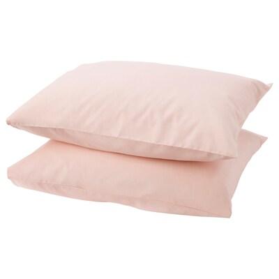 DVALA Faţă pernă, roz deschis, 50x60 cm
